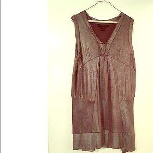 M By Marc Jacobs Metallic Sleeveless Dress Barneys